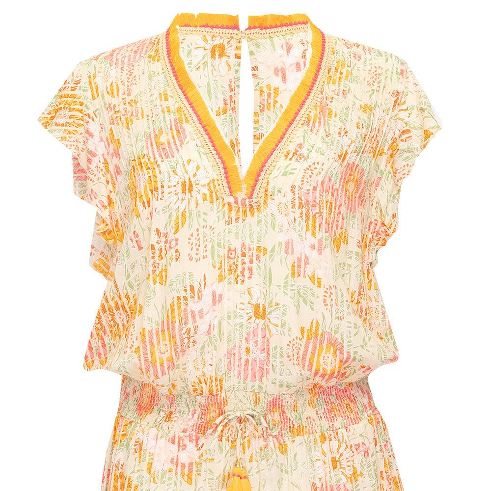Short Jumpsuit Sasha Yellow Marigold