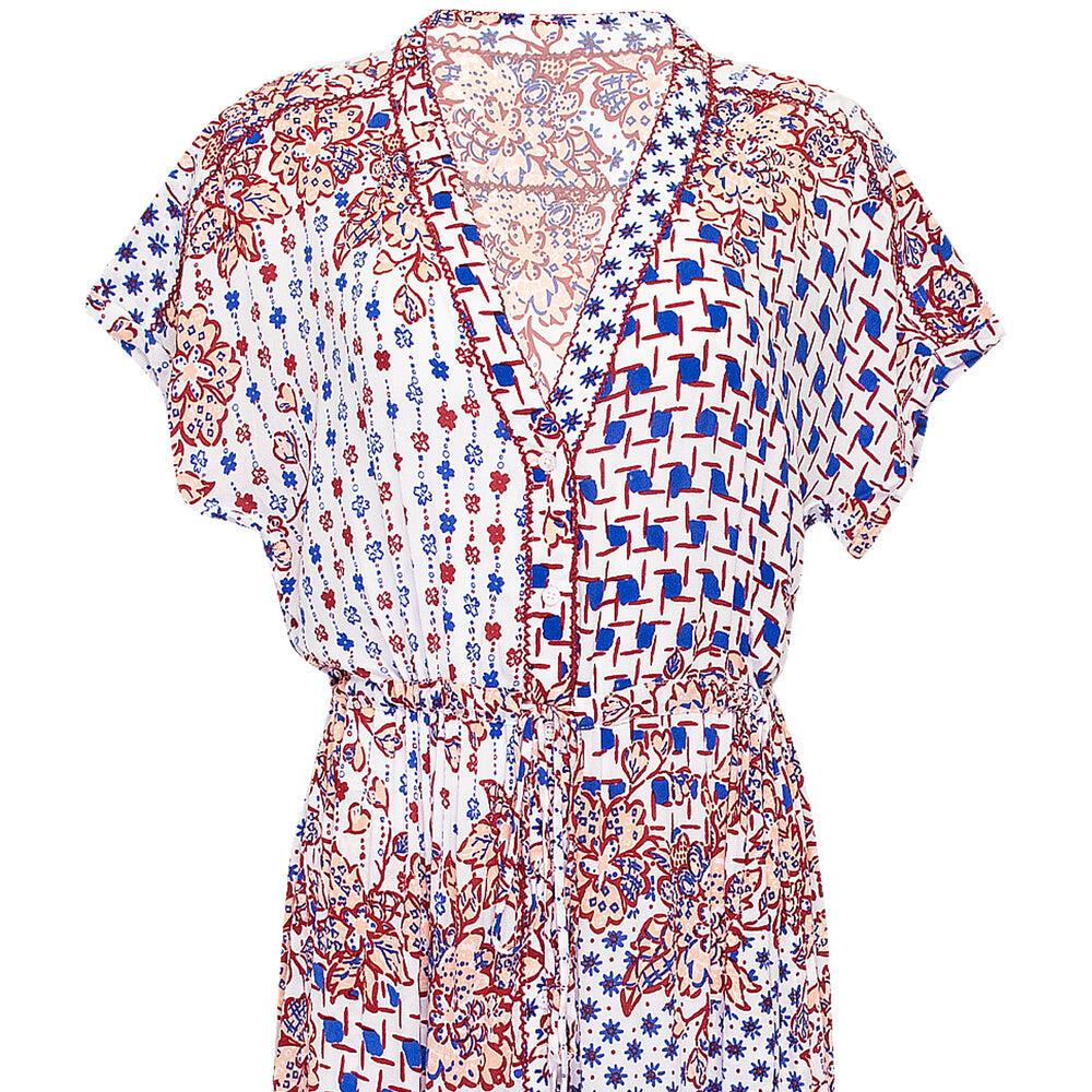 Long Dress Tunic Mya Blue Edelweiss