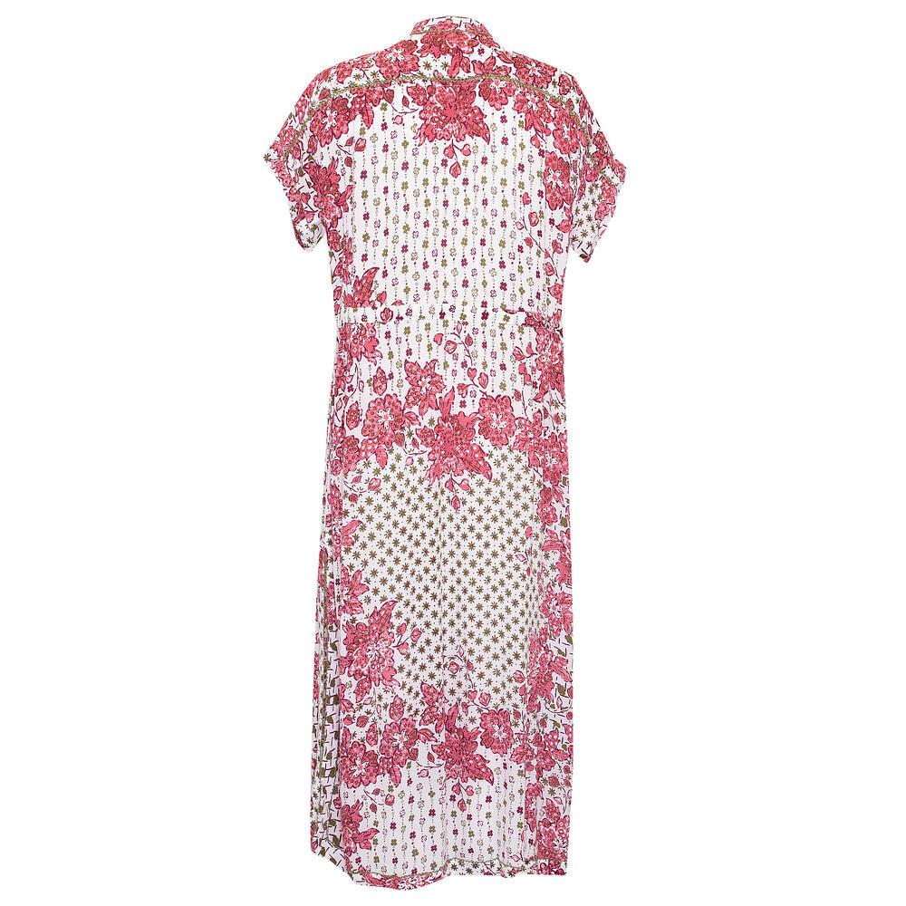 Long Dress Tunic Mya Pink Edelweiss
