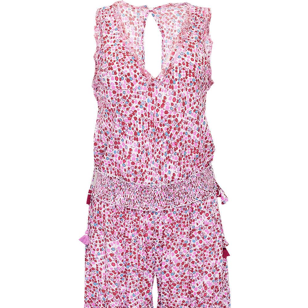 Long Jumpsuit Soledad Pink Tulip