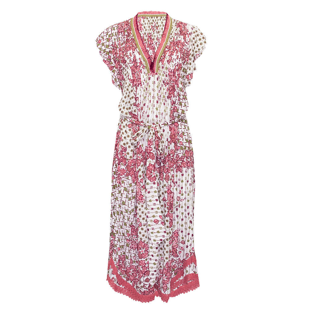 Midi Dress Sasha Pink Edelweiss