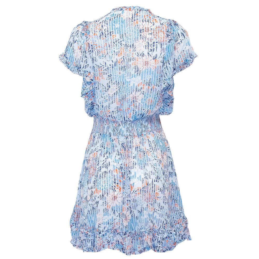 Mini Dress Amber Sky Blue Marigold