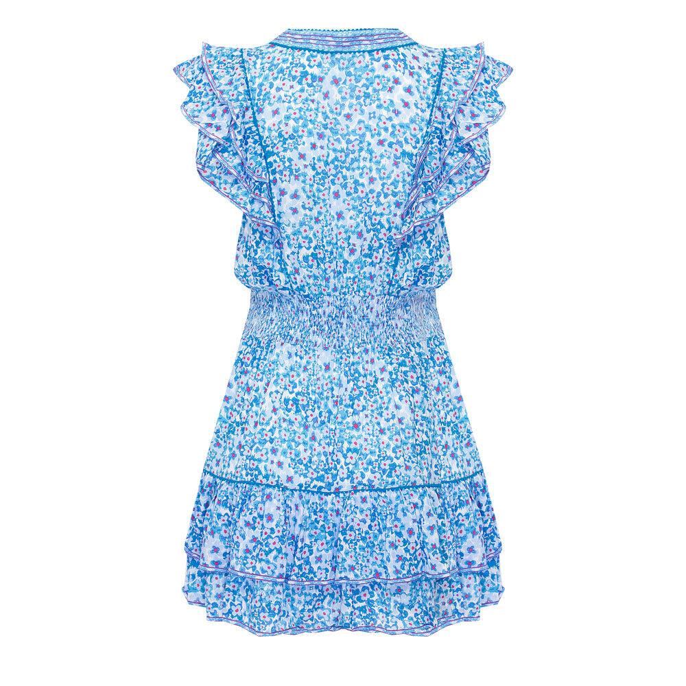 Mini Dress Camila Blue Hortensia