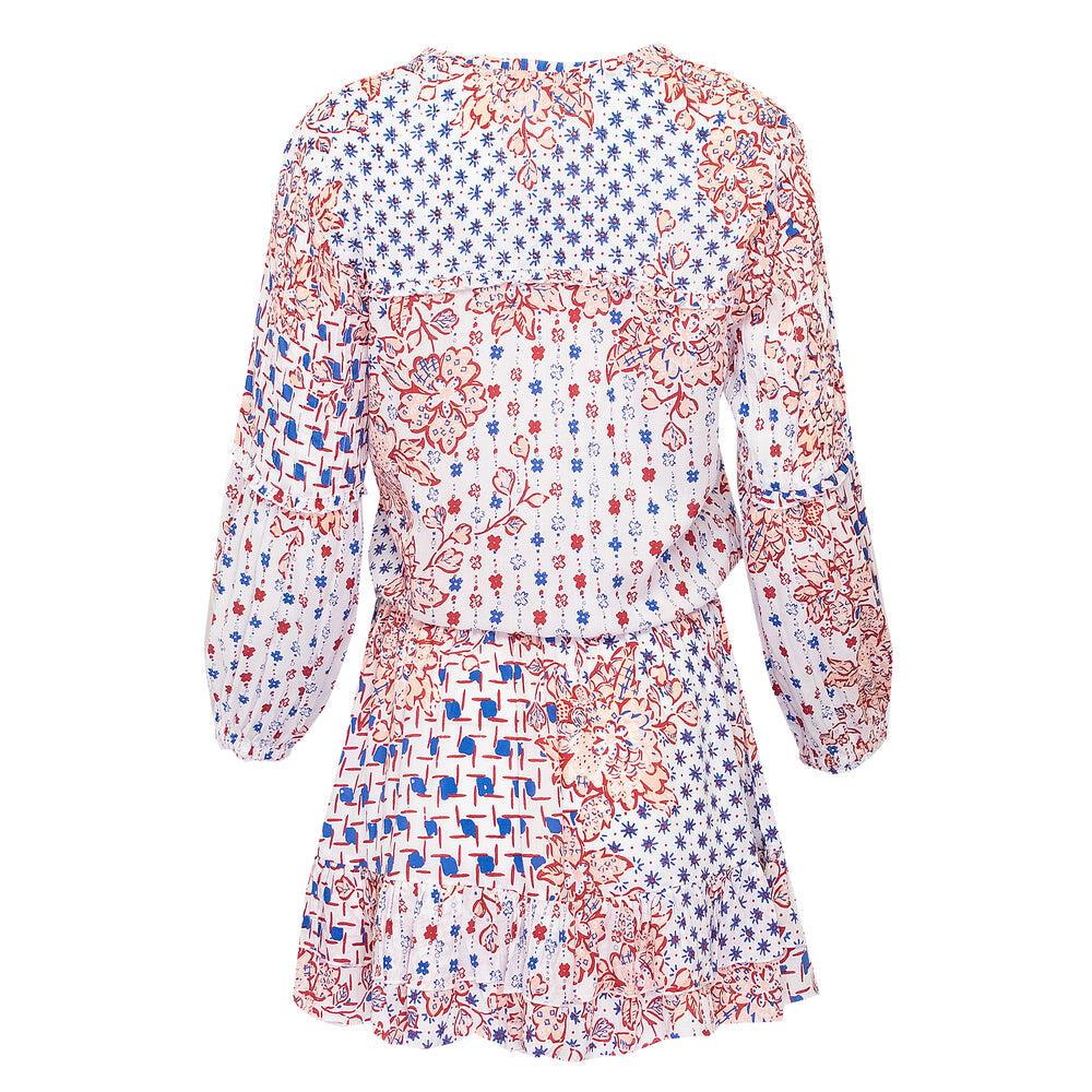 Mini Dress Ilona Long Sleeve Blue Edelweiss