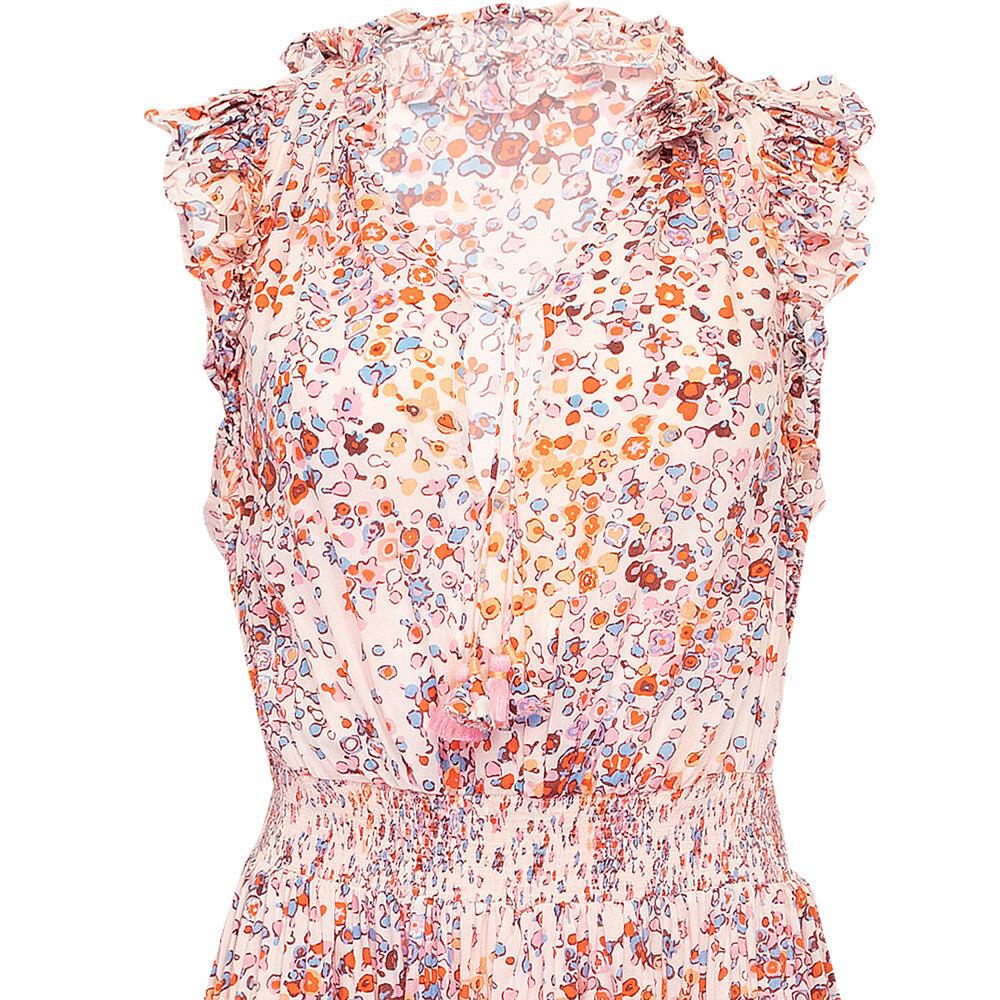 Mini Dress Triny Ruffled Pink Murrina