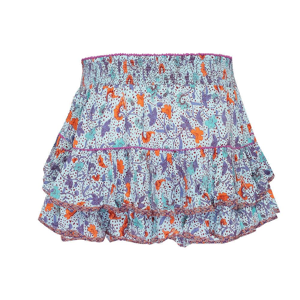 Mini Skirt Camilla Sky Blue Clary