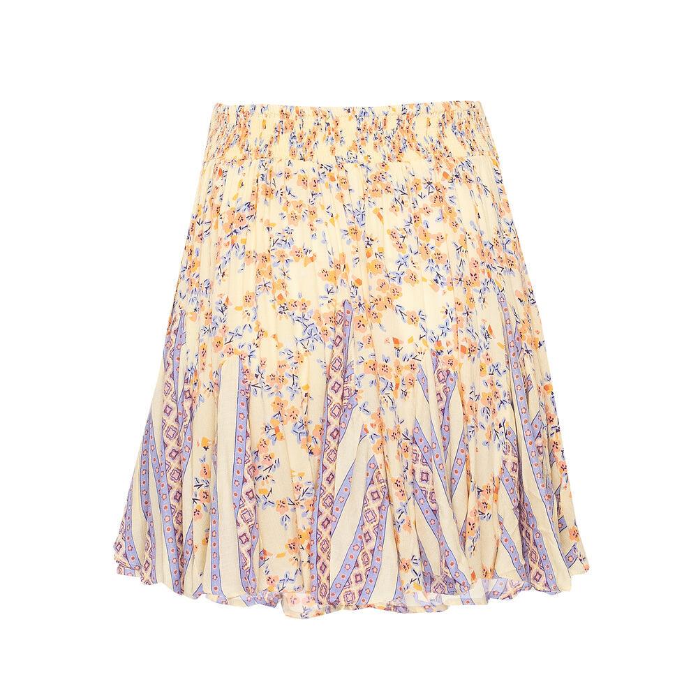 Mini Skirt Lisa Yellow Kookoo Bird