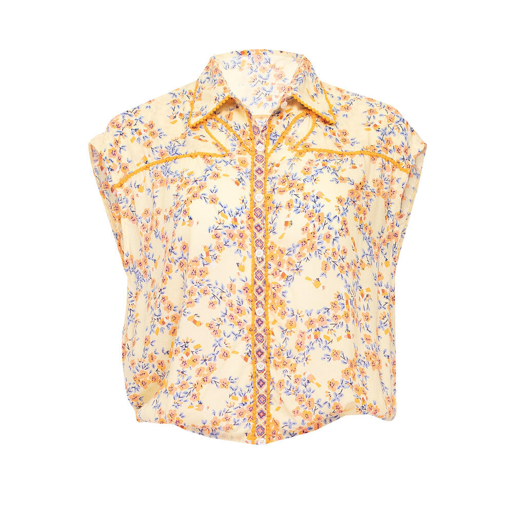 Shirt Margo Yellow Kookoo Bird