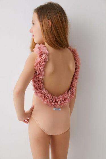Kids After Party Nude & Dusty Pink One Piece
