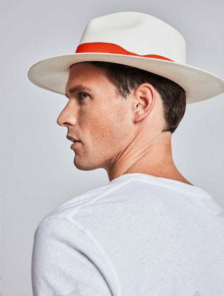 Rafael Panama Hat Orange