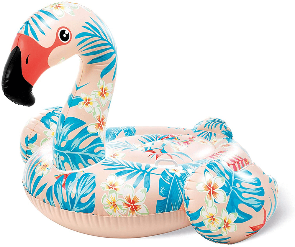 Tropical Flamingo Pool Float