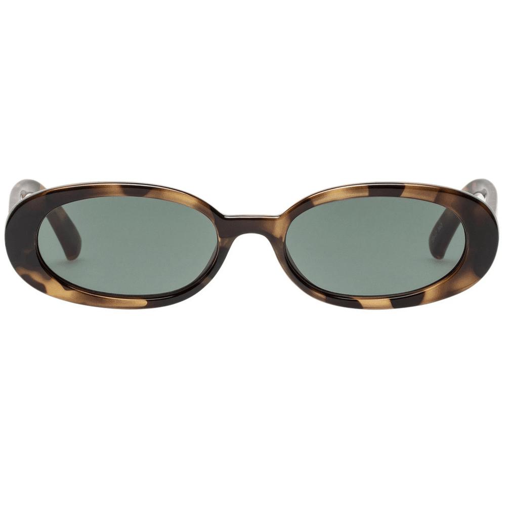 Outta Love Tort/Green Sunglasses