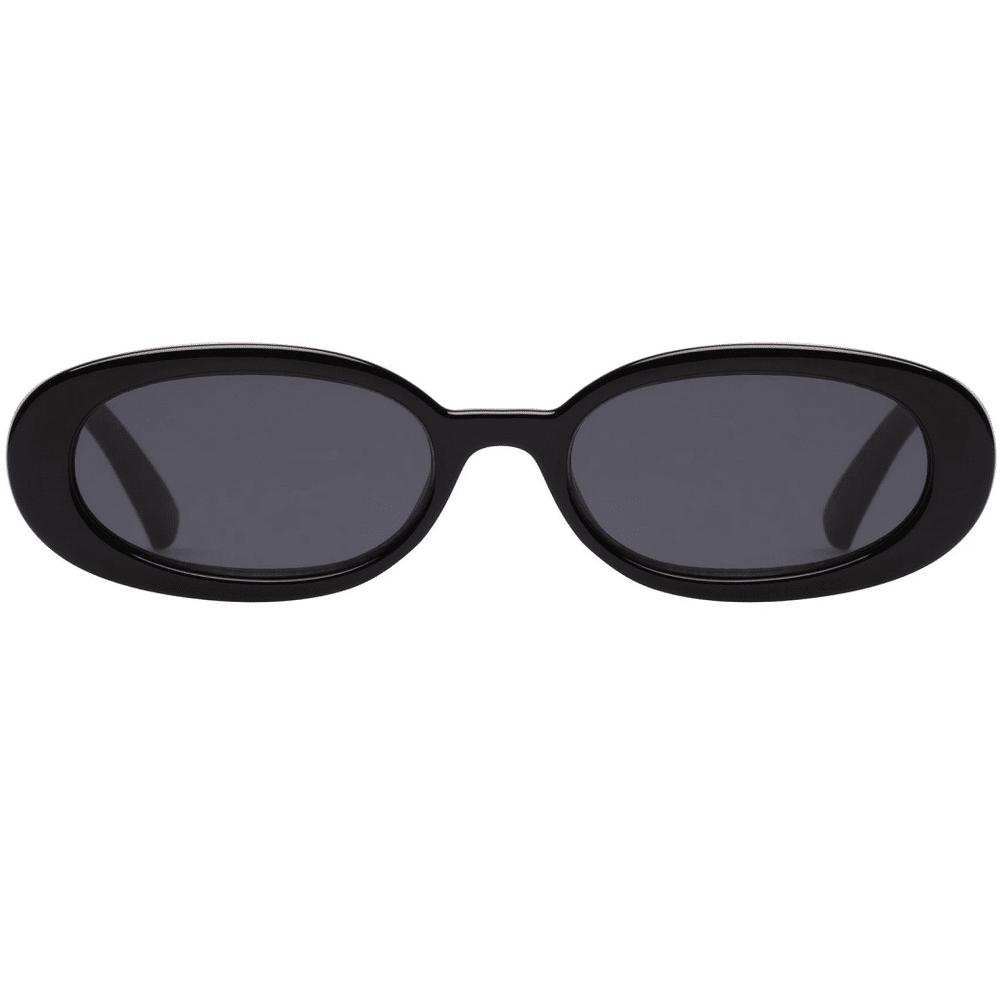 Outta Love Black Sunglasses
