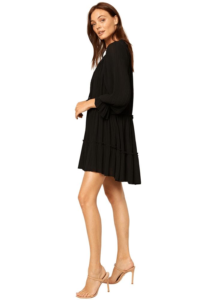 Azmina Dress Black