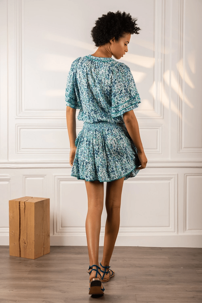 Mini Dress Mabelle Sky Blue Daffodil