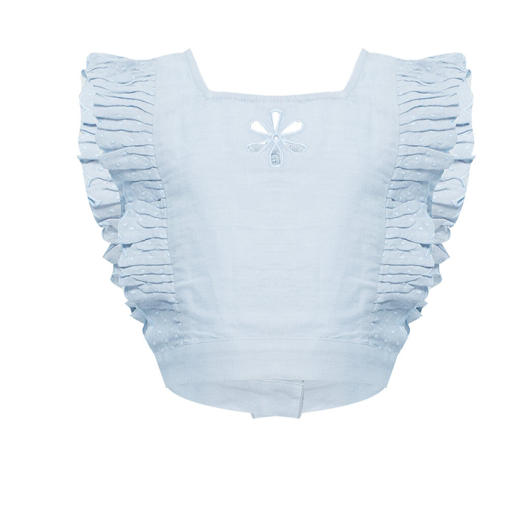 Broderie Anglaise Crop Top