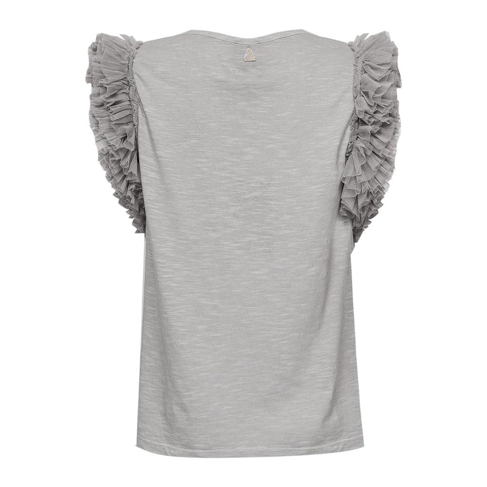 Ibiza Tule T-Shirt Silver Grey
