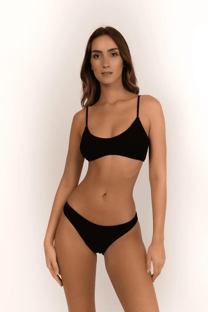 Barcelona Bikini Full Bottoms Black