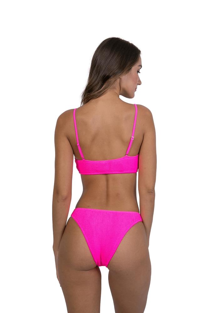 Maldives Bikini Top Hot Pink