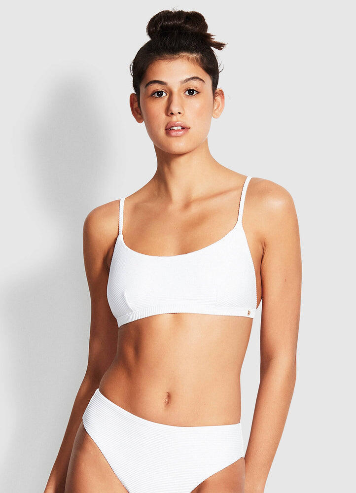 Essentials Bralette top White