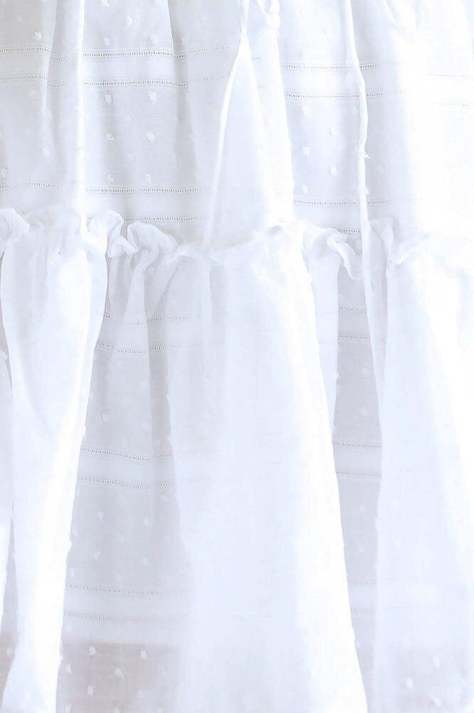 Heaven Sent Mini Skirt White