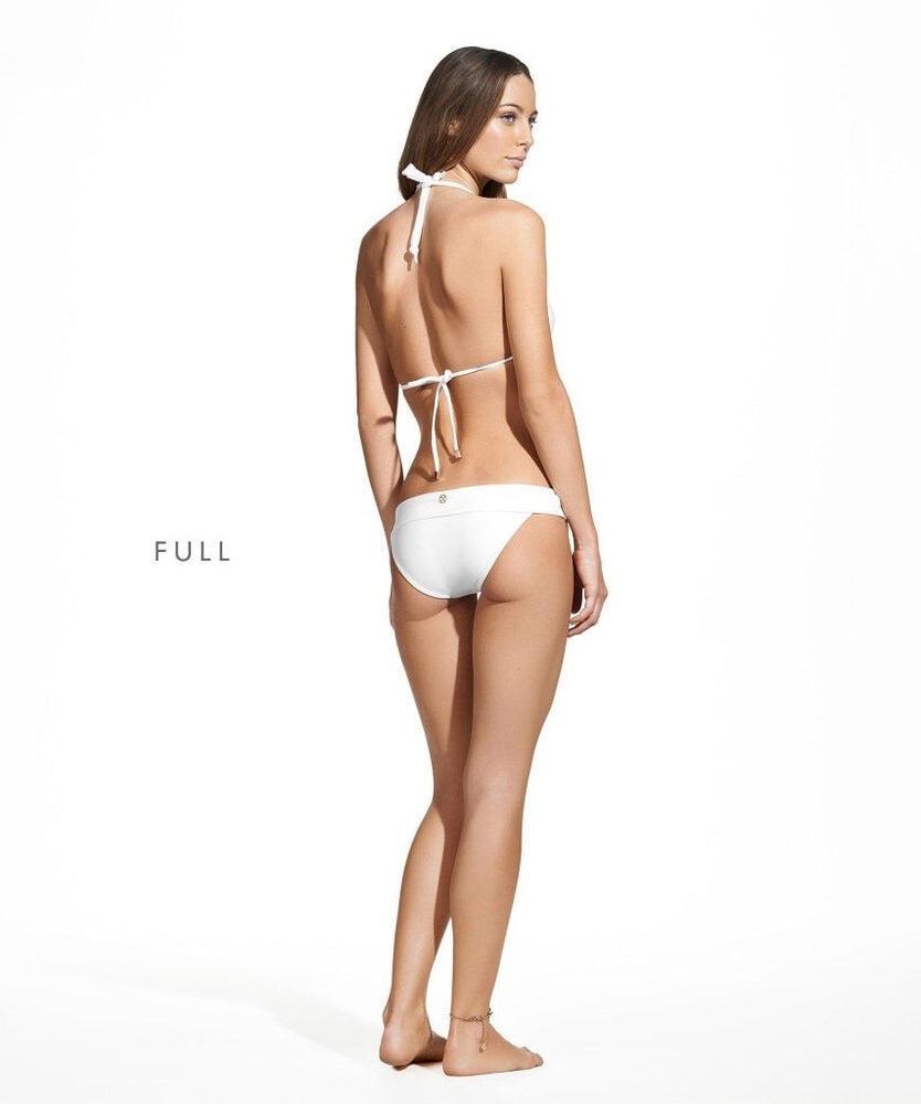 Solid Bia Tube Bikini Top White