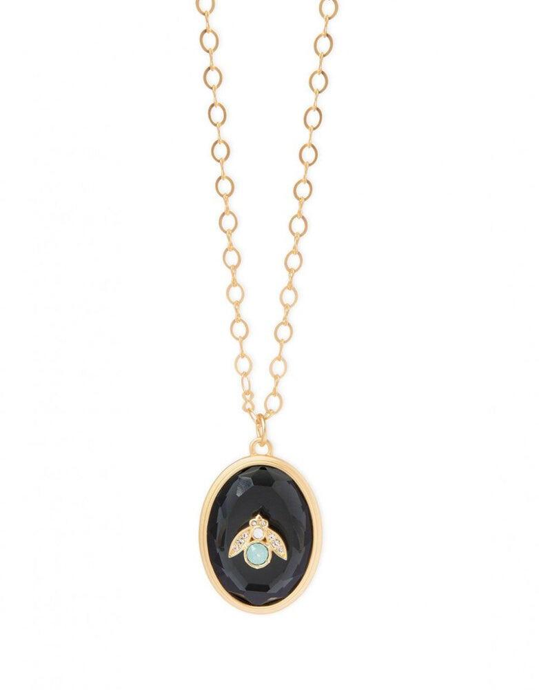 "Spartina Moonbee Necklace 28"""