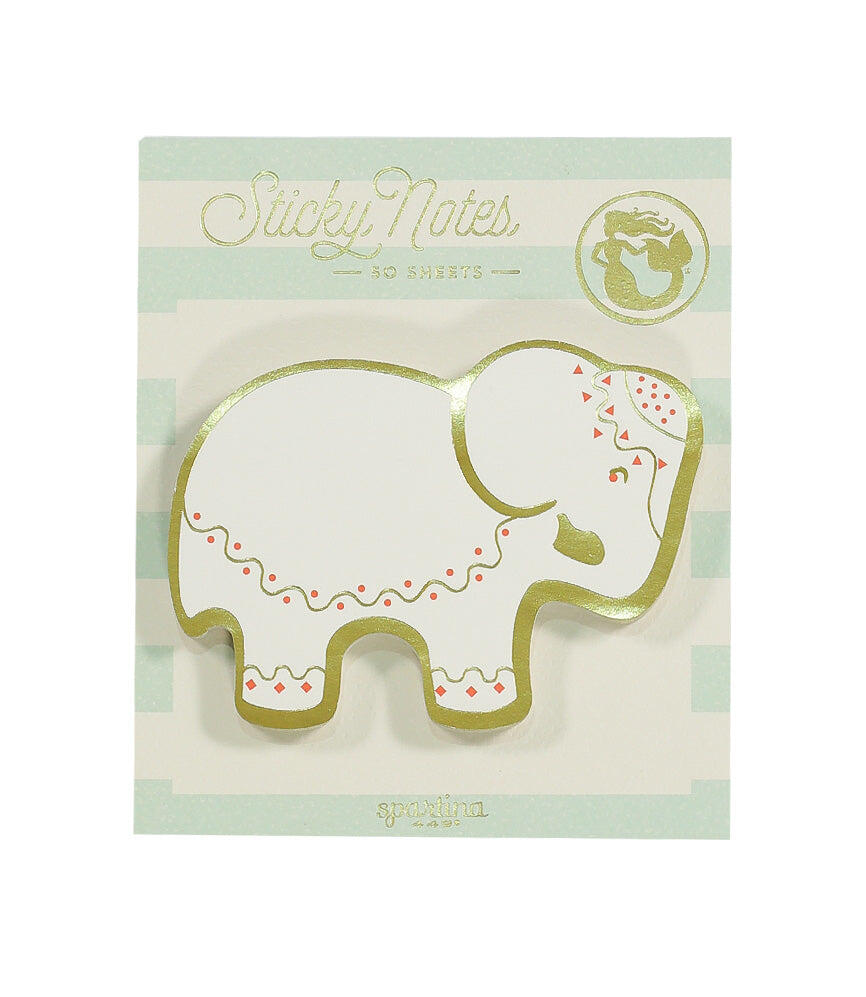 Spartina Sticky note pad Elephant