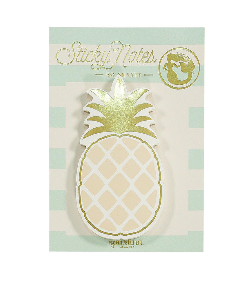 Spartina Sticky Note Pad Pineapple