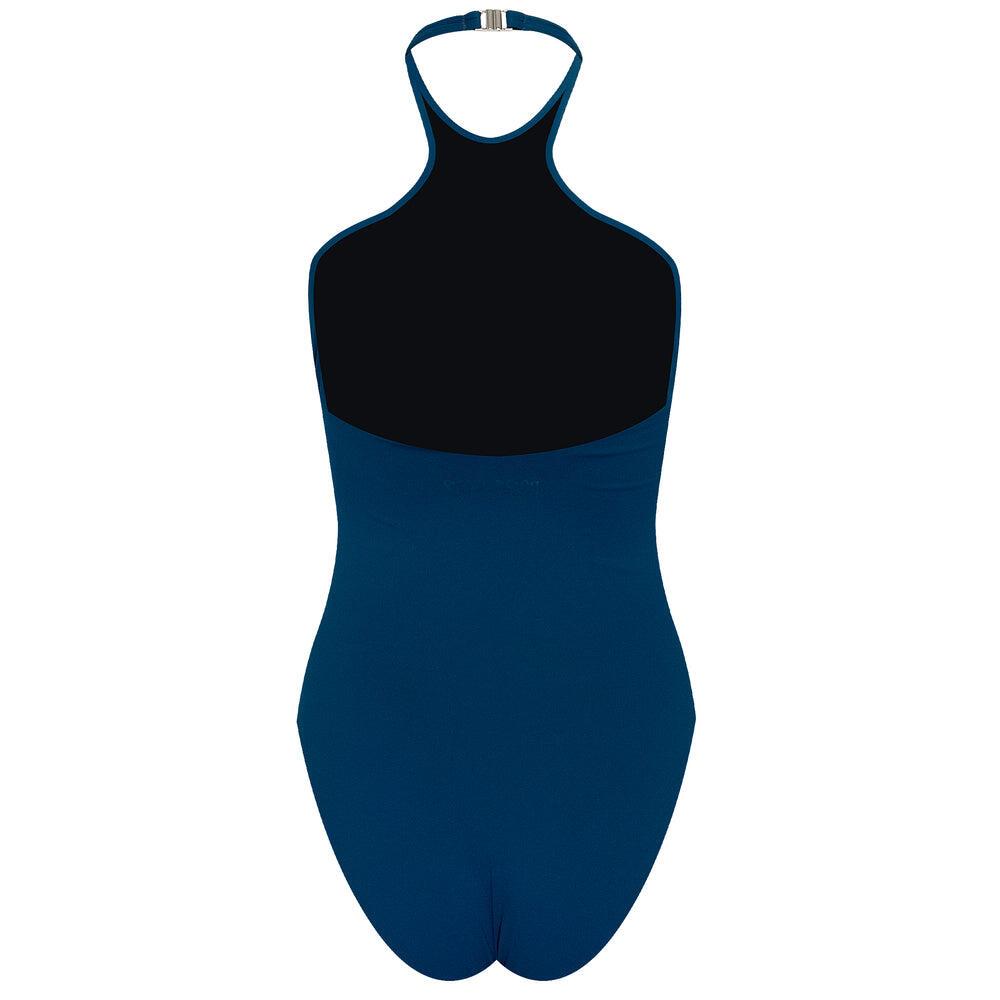 Just Blue Halterneck Swimsuit