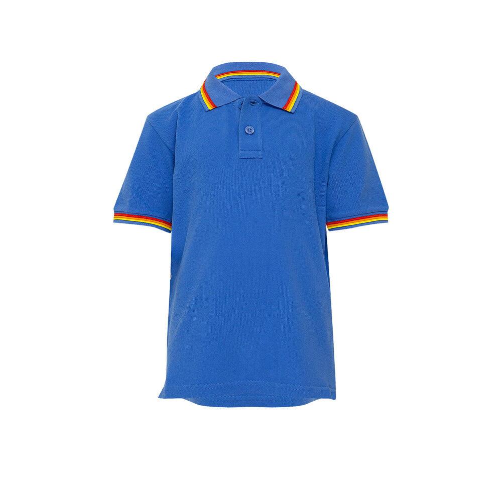 Boys Brice Polo Shirt Vintage Saphire