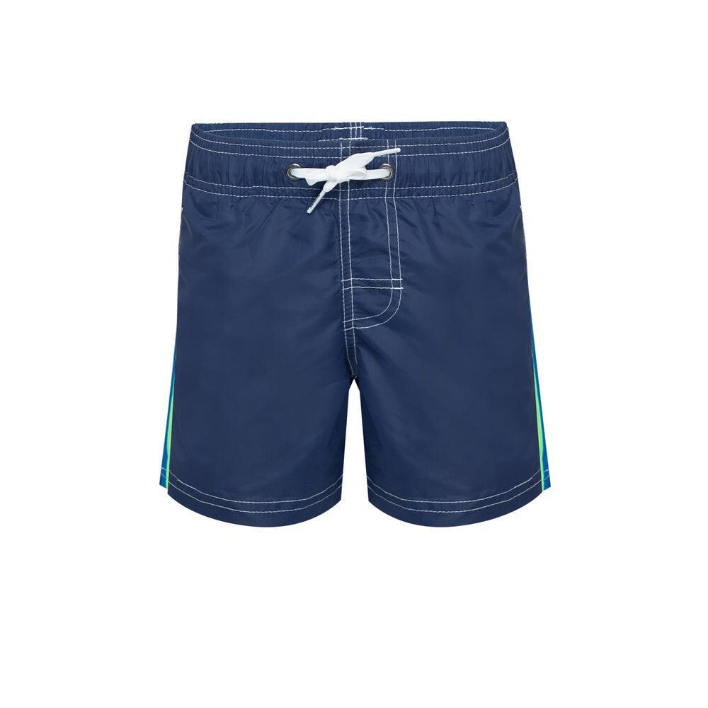 Boys Board Shorts In Blue