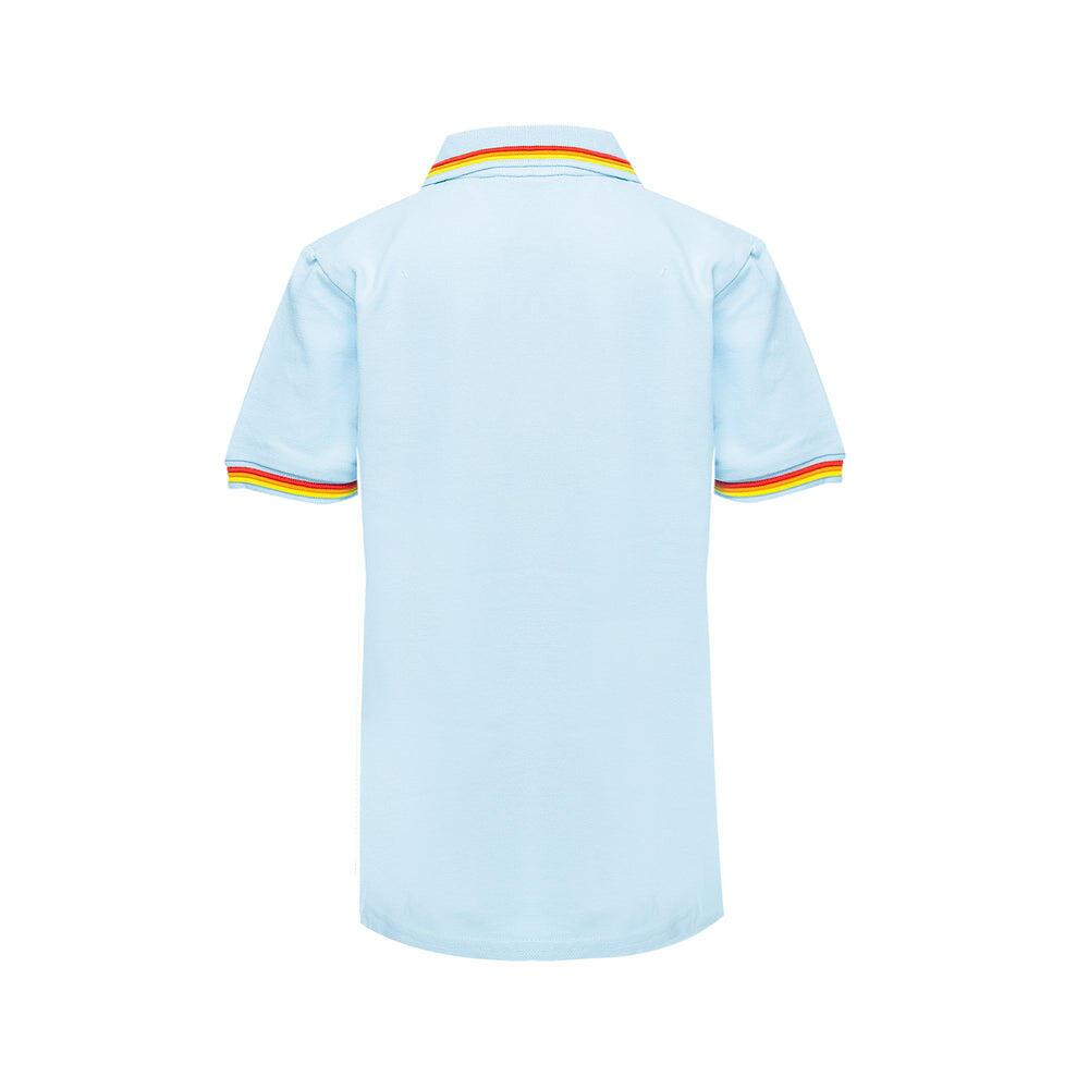 light blue polo shirt for kids