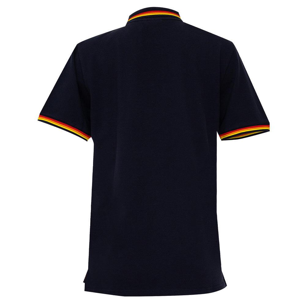 Mens Brice Polo Shirt in Pique Vintage Navy