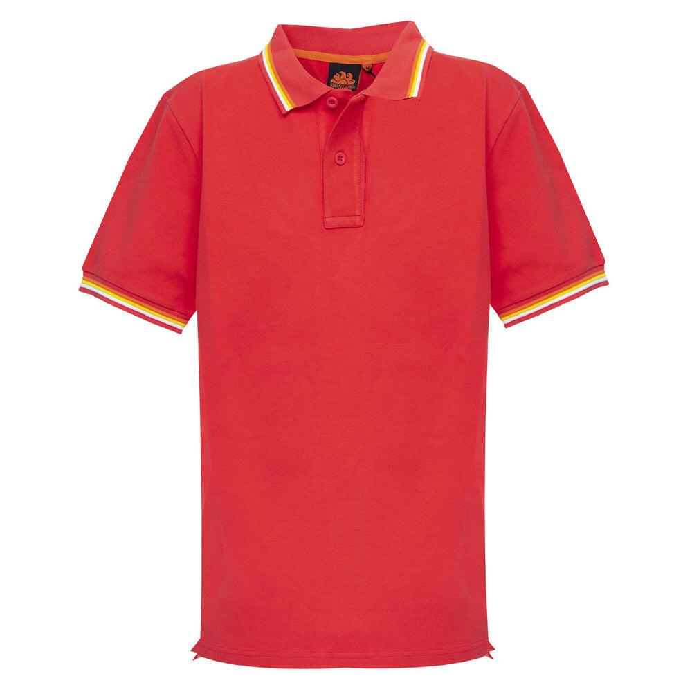 Sundek Polo Shirt For Men In Red