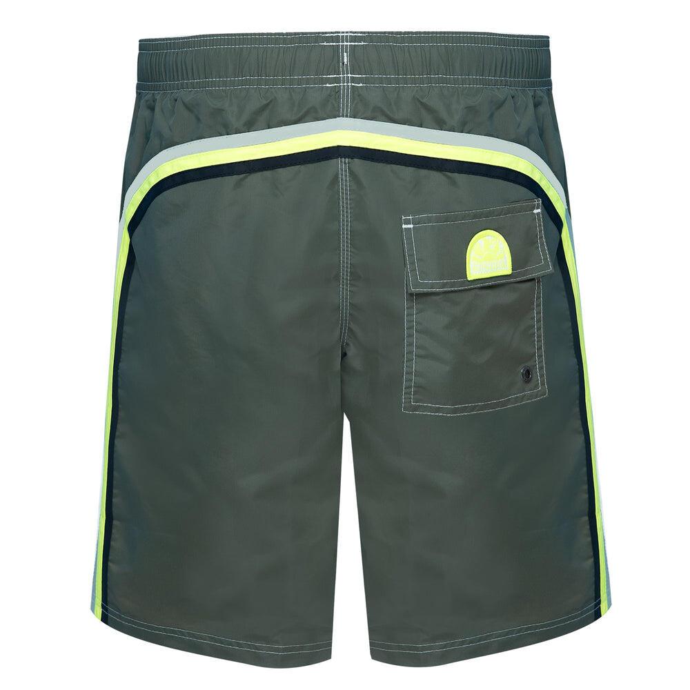 mens surf shorts in green
