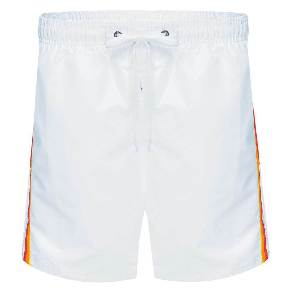mens white swim trunks