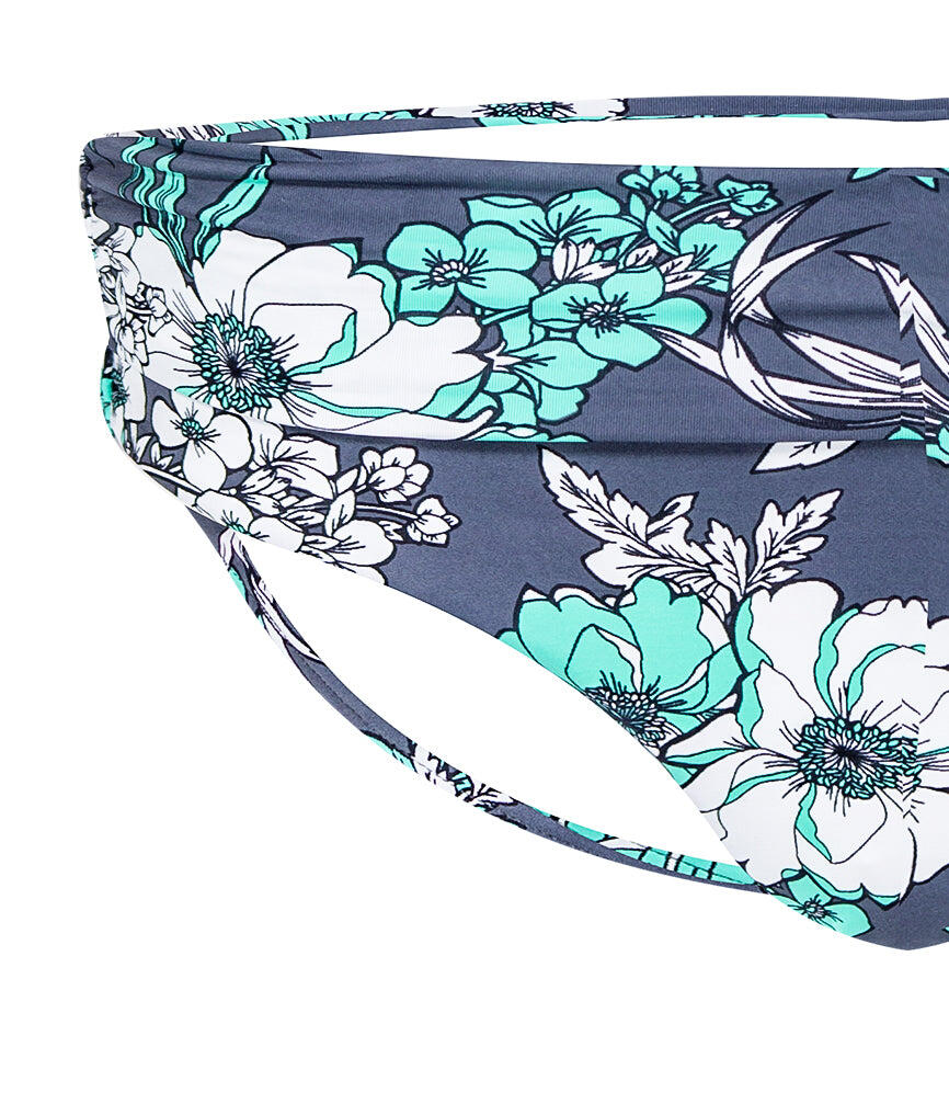 Mexican Floral Classic Pant - Slate