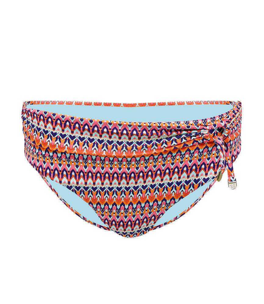 Missoni Tie Front Full Classic Pant - Punch