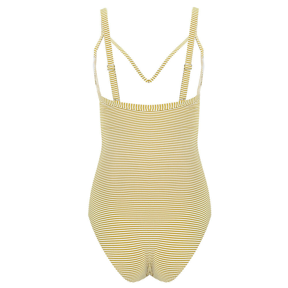Vintage Prairie Plus Cup One piece with Fixed Cups Mustard