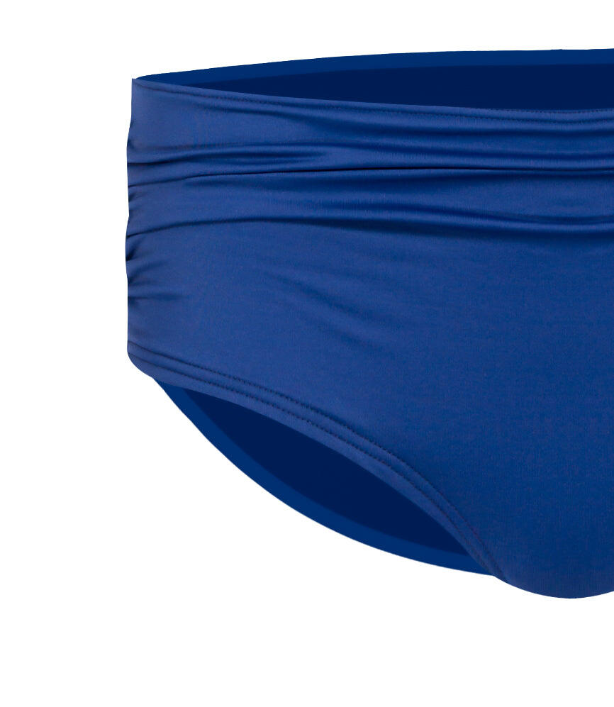 Solid Ruched Boxer - Midnight