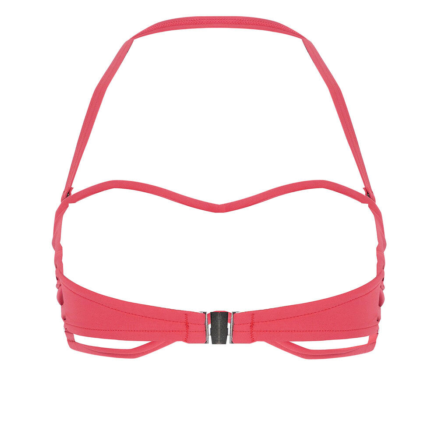 Solid Twist Bandeau - Rouge