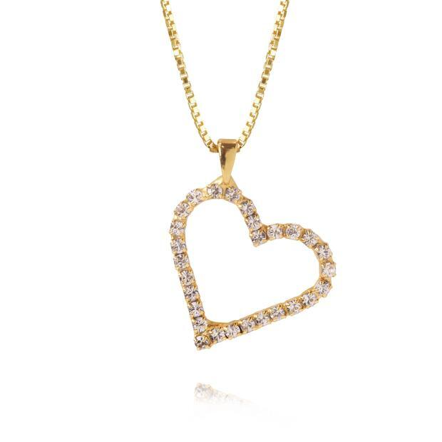Sweetheart Necklace Crystal