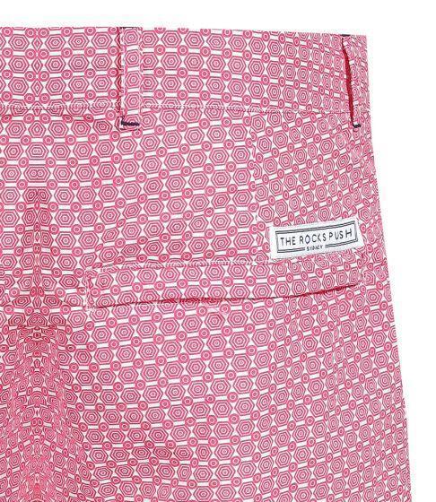 Blueys Umbrellas Pink Men's Swim Shorts