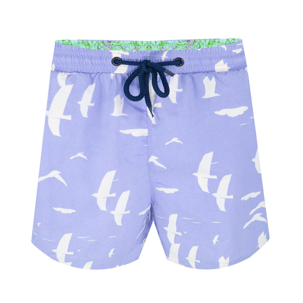 Balmoral Birds Clouds Men's Swim short