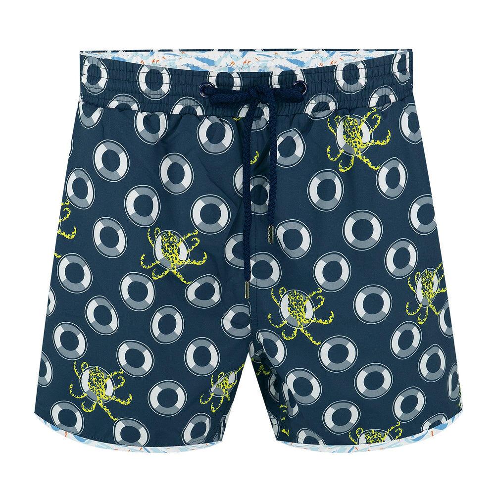 Balmoral Blue Ringed Octopus Men's Swim Short