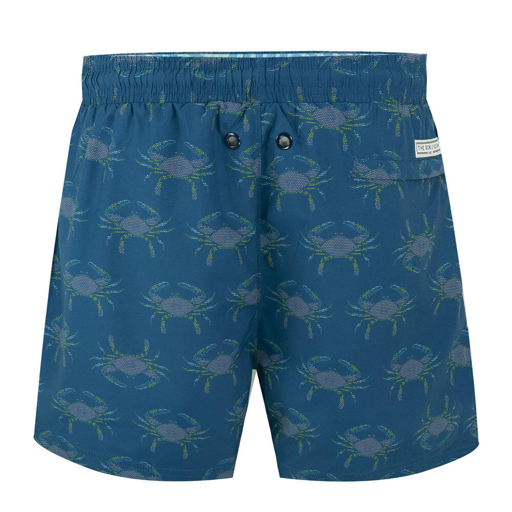Balmoral Crabs Navy Men's Swim Shorts