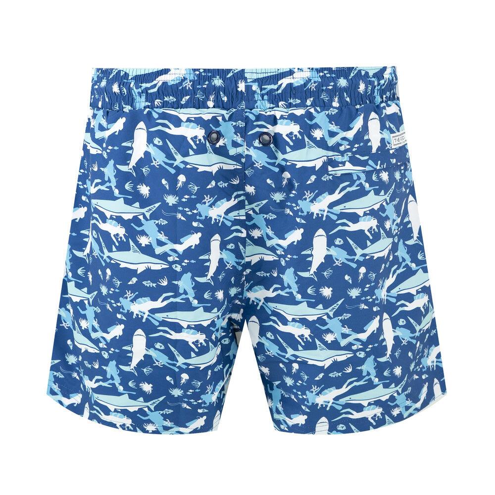 Balmoral Diver Blue Men's Swim Short