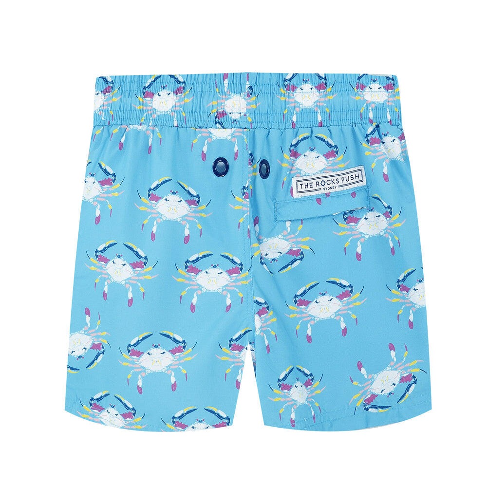 Balmoral Crabs Aqua Boys