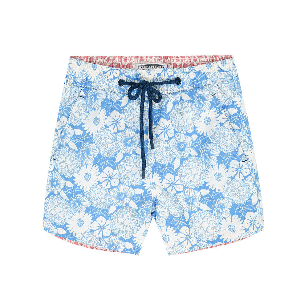 Balmoral Boys Lineral Floral Swim Shorts